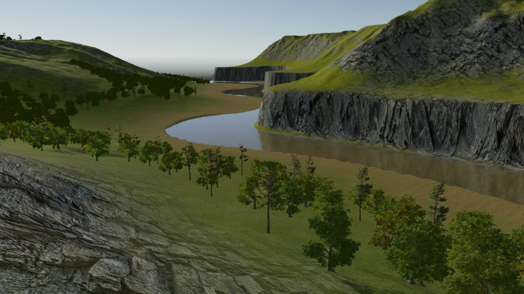 Invasion Live - WIP Terrain with texture